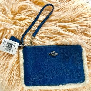 Blue Coach Clutch